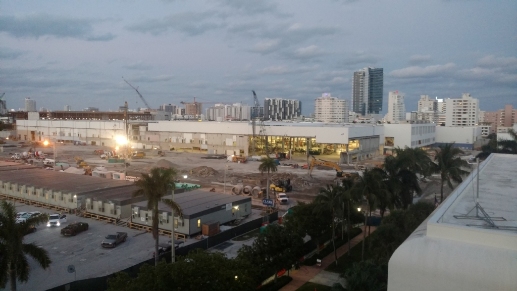 Miami Beach Convention Center...Work In Progress